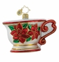 Christopher Radko Christmas Ornament - Tea Time