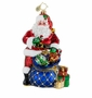 Christopher Radko Christmas Ornament - Twinkling Tote