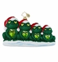 Christopher Radko Christmas Ornament - We Wish You a Froggy Christmas