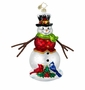 Christopher Radko Christmas Ornament - Winter Gathering