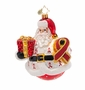 Christopher Radko Claus for a Cure Ornament