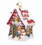 Christopher Radko Comfy Cottage Ornament