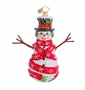 Christopher Radko Cozy Cherry Ice Ornament