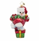 Christopher Radko Drifty Dancer, Assorted Designs Snowman Ornament