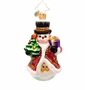 Christopher Radko Fancy Frost Gem Ornament