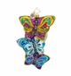 Christopher Radko Fluttering Elegance Butterfly Ornament