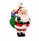 Christopher Radko Frank Galore Santa Claus Ornament