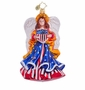 Christopher Radko Freedom Wings Ornament