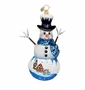 Christopher Radko Frosty Memory Lane Ornament