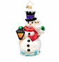 Christopher Radko Frosty Midnight Meeting Ornament