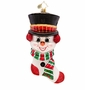 Christopher Radko Frosty 'n' Cozy Ornament