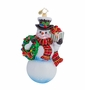 Christopher Radko Frosty Offer Ornament