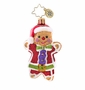 Christopher Radko Ginger Jack Gem Ornament