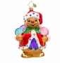 Christopher Radko Ginger Sweet Claus Ornament