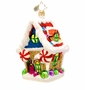 Christopher Radko Ginger Sweet Hideaway Ornament