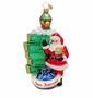 Christopher Radko Golden City Claus Ornament
