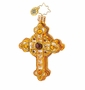 Christopher Radko Golden Rood Little Gem Ornament