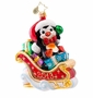 Christopher Radko Hold on Charlie! Ornament