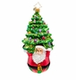 Christopher Radko Joyful Lift Santa Ornament
