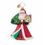 Christopher Radko Joyful Visitor Ornament
