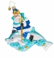 Christopher Radko King of the Sea Marine Santa Claus with Dolphin Ornament
