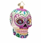 Christopher Radko La Calavera WHITE Ornament