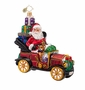 Christopher Radko Little Red Roadster Ornament