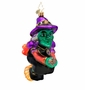 Christopher Radko Night Flight Fright Ornament