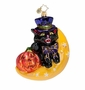 Christopher Radko Night of the Scaredy Cat Ornament