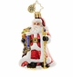 Christopher Radko Noble Nicholas Little Gem Santa Claus Ornament