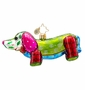 Christopher Radko Patchwork Winnie Ornament