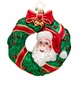 Christopher Radko Peek-a-Boo Santa Ornament