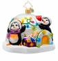 Christopher Radko Penguin Prep Ornament