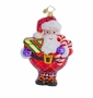 Christopher Radko Plaid All Around Ornament