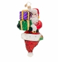 Christopher Radko Popin' Claus Ornament
