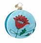 Christopher Radko Poppy Freeblown Ornament