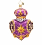 Christopher Radko Regal Heart Ornament