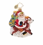 Christopher Radko Ride Along Reindeer Little Gem Ornament