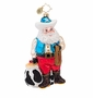 Christopher Radko Rootin' Tootin' Nick Ornament