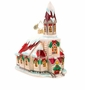 Christopher Radko Ruby Roof Chapel Ornament