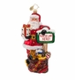 Christopher Radko Santa Land Ornament