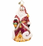 Christopher Radko Shimmering Santa Ornament