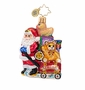Christopher Radko Showered with Toys Little Gem Ornament