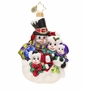 Christopher Radko Snow-family Portrait Ornament