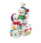 Christopher Radko Snowmen Glowmen Ornament