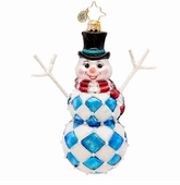 Christopher Radko Snowmen Ornaments