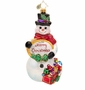 Christopher Radko Snowtime Like Christmastime Ornament