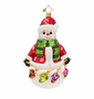 Christopher Radko Snowy Noel Ornament
