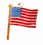 Christopher Radko Star Spangled Banner Ornament