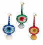 Christopher Radko Stem Reflector Freeblown SMALL Ornament